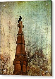 The Old Cross Acrylic Print by Gothicrow Images