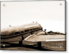 The Old Dc3 Acrylic Print by Steven Digman