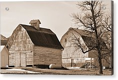 Acrylic Print featuring the photograph The Old Farm by Kirt Tisdale