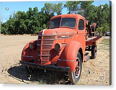 The Old Farm Truck 5d23971 Acrylic Print by Wingsdomain Art and Photography
