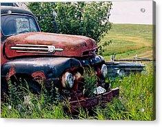 The Old Farm Truck Acrylic Print