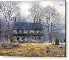 The Old Farmhouse Acrylic Print