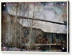 The Old Feed Mill Acrylic Print by Cynthia Nichols