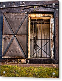 The Old Fort Gate-color Acrylic Print