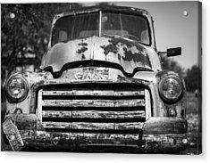 The Old Gmc Truck Acrylic Print