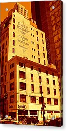 The Old Good Days In Manhattan Acrylic Print