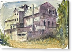 The Old Grain And Feed Store Acrylic Print