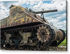 The Old Guardian-sherman Tank Acrylic Print