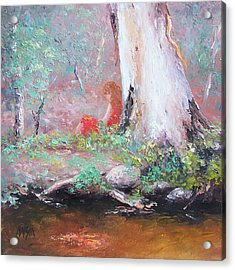 The Old Gum By The Creek Acrylic Print