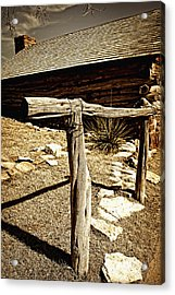 The Old Hitching Post Acrylic Print