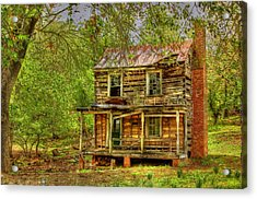The Old Home Place Acrylic Print by Dan Stone