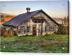 The Old Homestead Acrylic Print by Melody Madsen
