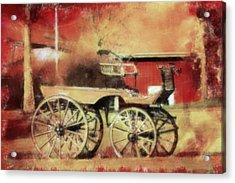 The Old Horse Cart Acrylic Print by Tommytechno Sweden