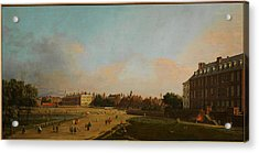 The Old Horse Guards From St James S Park Acrylic Print by Celestial Images