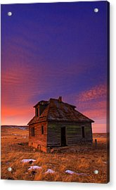 Acrylic Print featuring the photograph The Old House by Kadek Susanto