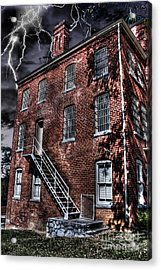 The Old Jail Acrylic Print by Dan Stone