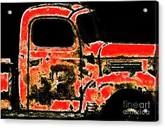 The Old Jalopy 7d22382 Acrylic Print by Wingsdomain Art and Photography