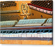The Old Keys Acrylic Print