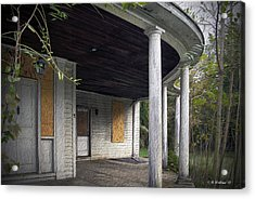 The Old Lowman Place Acrylic Print by Brian Wallace