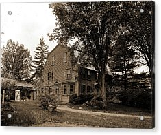The Old Manse, Concord, Massachusetts, Hawthorne Acrylic Print by Litz Collection