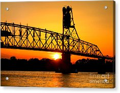 The Old Mighty Span Acrylic Print by Olivier Le Queinec
