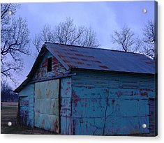 The Old Milk Barn In The Morning Acrylic Print