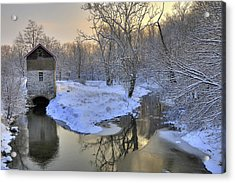 Acrylic Print featuring the photograph The Old Mill by Dan Myers