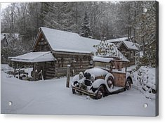 The Old Mill Store Acrylic Print by Stephen Gray