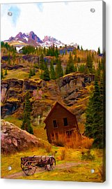 The Old Miners House Acrylic Print