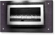 The Old Piano Acrylic Print by Dan Sproul