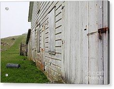 The Old Pierce Point Ranch At Foggy Point Reyes California 5d28130 Acrylic Print by Wingsdomain Art and Photography