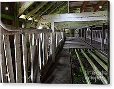 The Old Pierce Point Ranch At Point Reyes California 5d28128 Acrylic Print by Wingsdomain Art and Photography