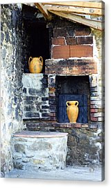 The Old Pizza Oven Acrylic Print by Dorothy Berry-Lound