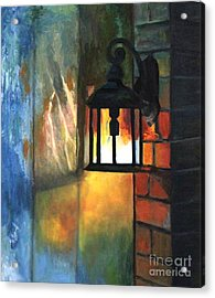 The Old Porch Light Acrylic Print