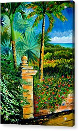The Old Post In Key West Acrylic Print
