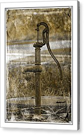 The Old Pump Acrylic Print