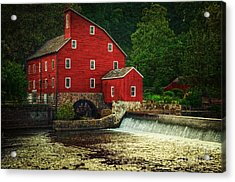 The Old Red Mill Acrylic Print