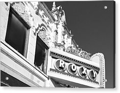 The Old Roxy Marquee - Atlanta Music Nostalgia Acrylic Print