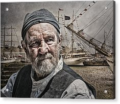 The Old Salt Acrylic Print
