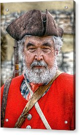 The Old Soldier Acrylic Print by Randy Steele