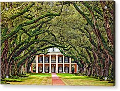The Old South Acrylic Print by Steve Harrington