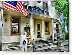 The Old Store Acrylic Print by Diana Angstadt