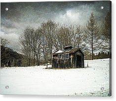 The Old Sugar Shack Acrylic Print by Edward Fielding