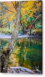 The Old Swimming Hole Acrylic Print by Edward Fielding