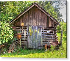 The Old Tool Shed II Acrylic Print by Lanita Williams