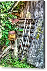 The Old Tool Shed Acrylic Print