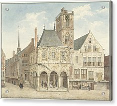The Old Town Hall In Amsterdam The Netherlands Acrylic Print by Quint Lox