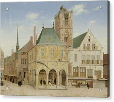 The Old Town Hall Of Amsterdam, The Netherlands Acrylic Print by Litz Collection