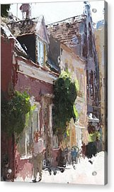 The Old Town Acrylic Print by Steve K