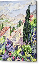 The Old Town Vaison Acrylic Print